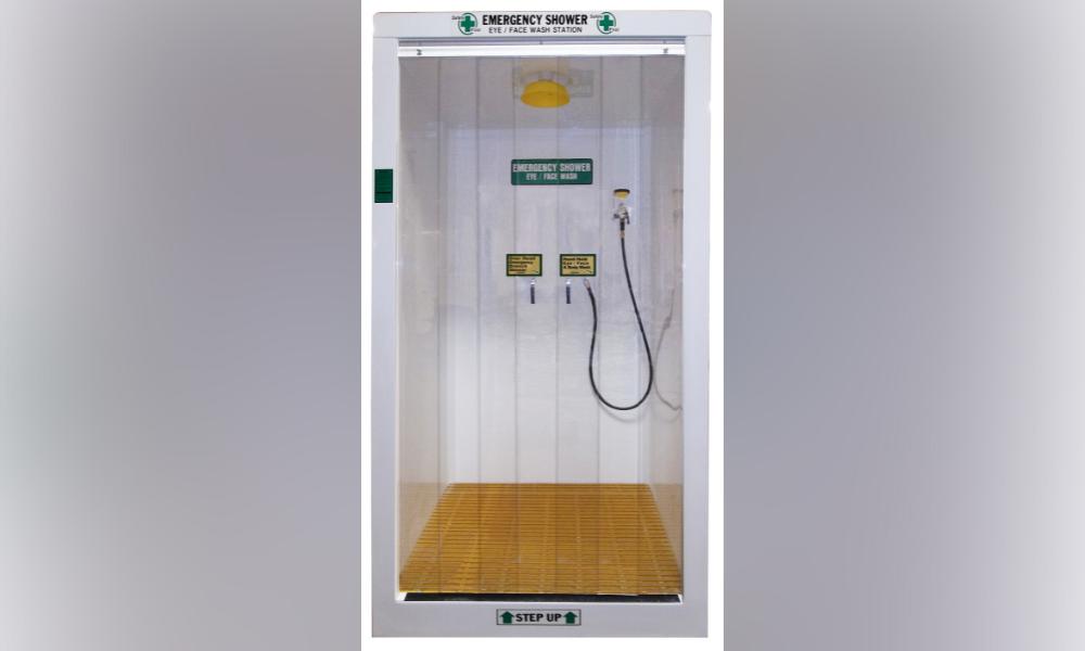 HEMCO Emergency Decontamination Booth