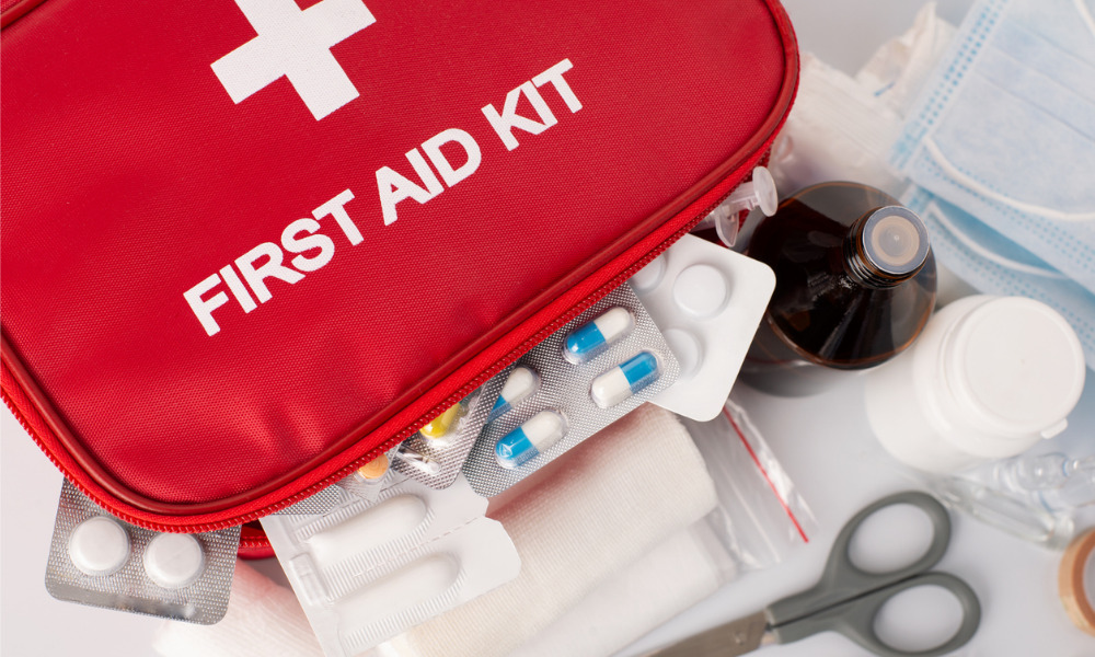Everything you need to know about a workplace first aid kit