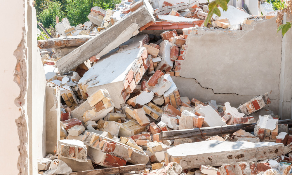 One dead, one injured in B.C. building collapse