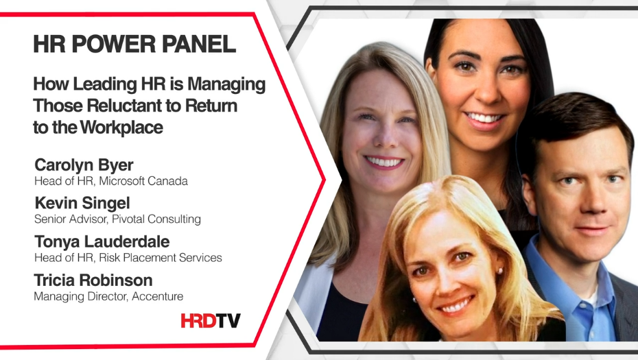 How Leading HR is Managing Those Reluctant to Return to the Workplace