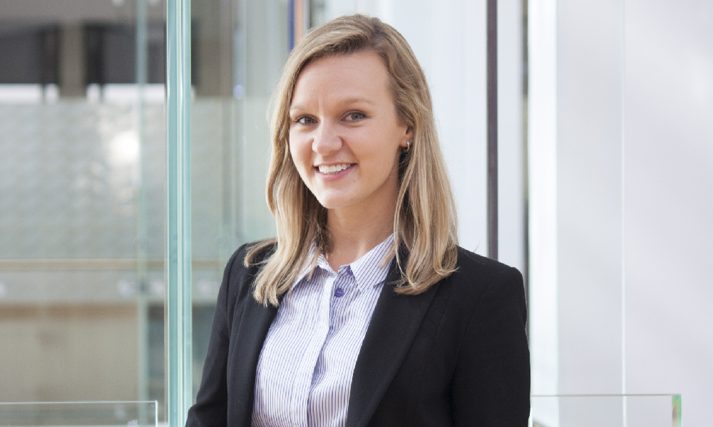 'Find and have confidence in your authentic voice,' Ashurst lawyer says