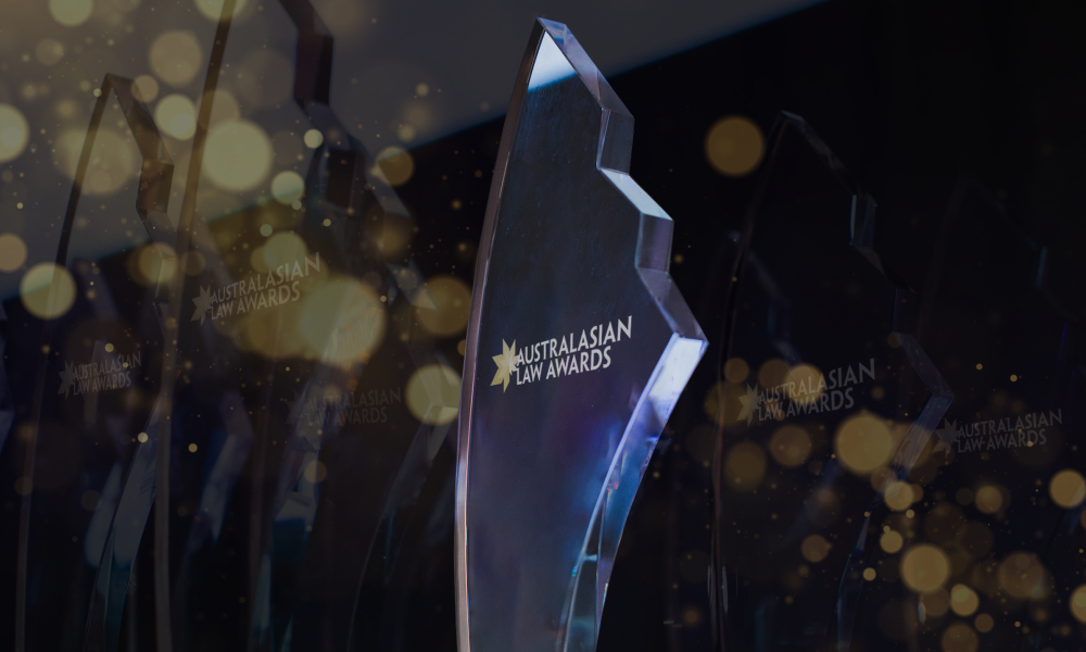 Clock is ticking on nominations to the Australasian Law Awards 2021