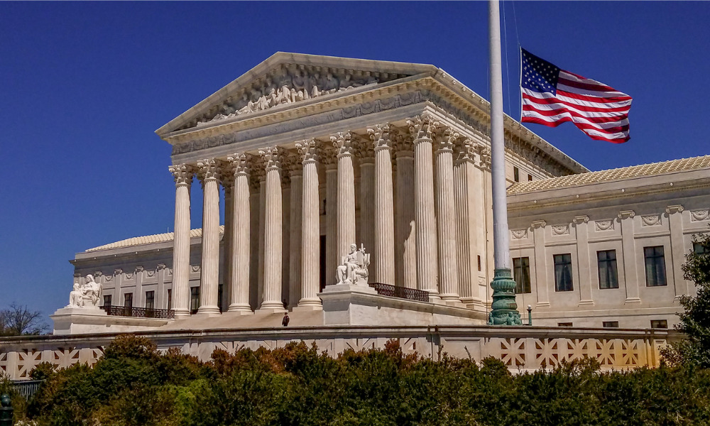 US Supreme Court approval rating drops to four-year low – survey
