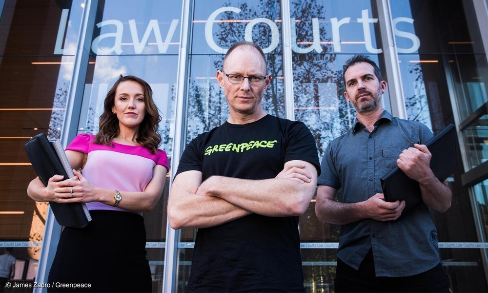 Greenpeace-AGL copyright conflict heads to Federal Court