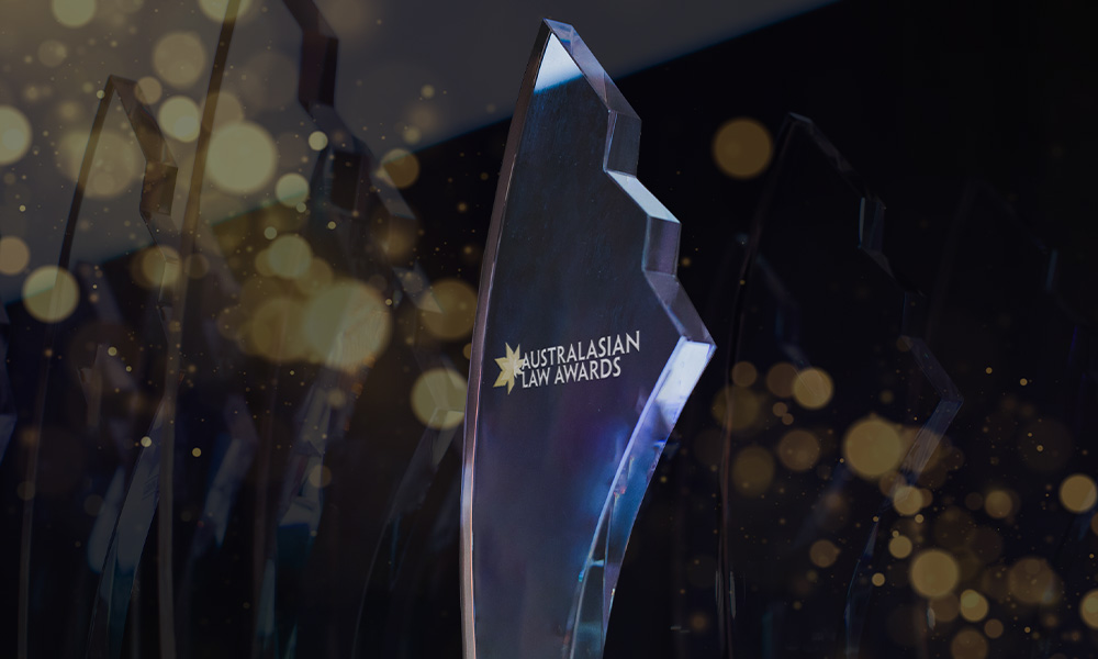 Australasian Law Awards 2021 crowns the winners of the in-house categories