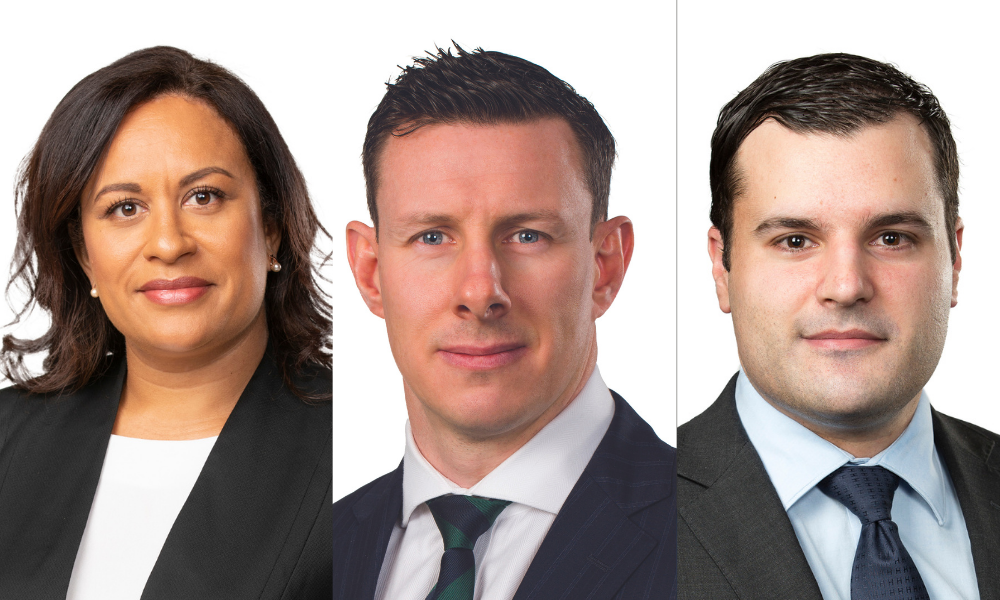 Bartier Perry welcomes three to the partnership