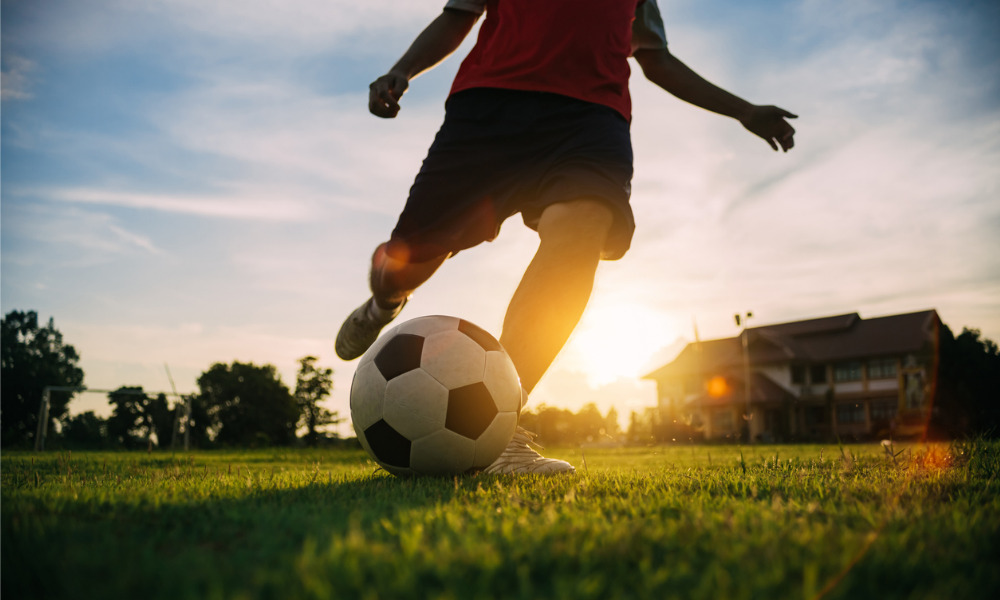 Thomson Geer helps Melbourne school launch football academy with reigning EPL champions