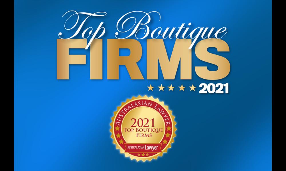 Top Boutique Firms 2021