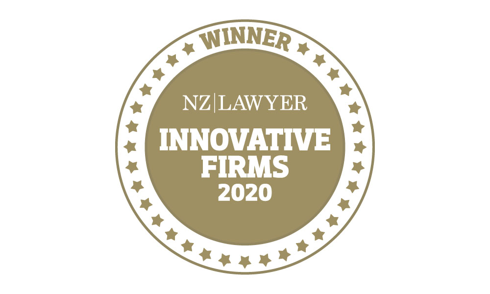 NZ Lawyer Innovative Firms 2020