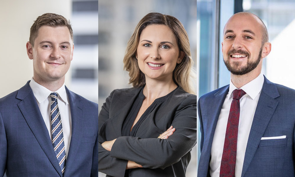 Three key promotions for Auckland firm