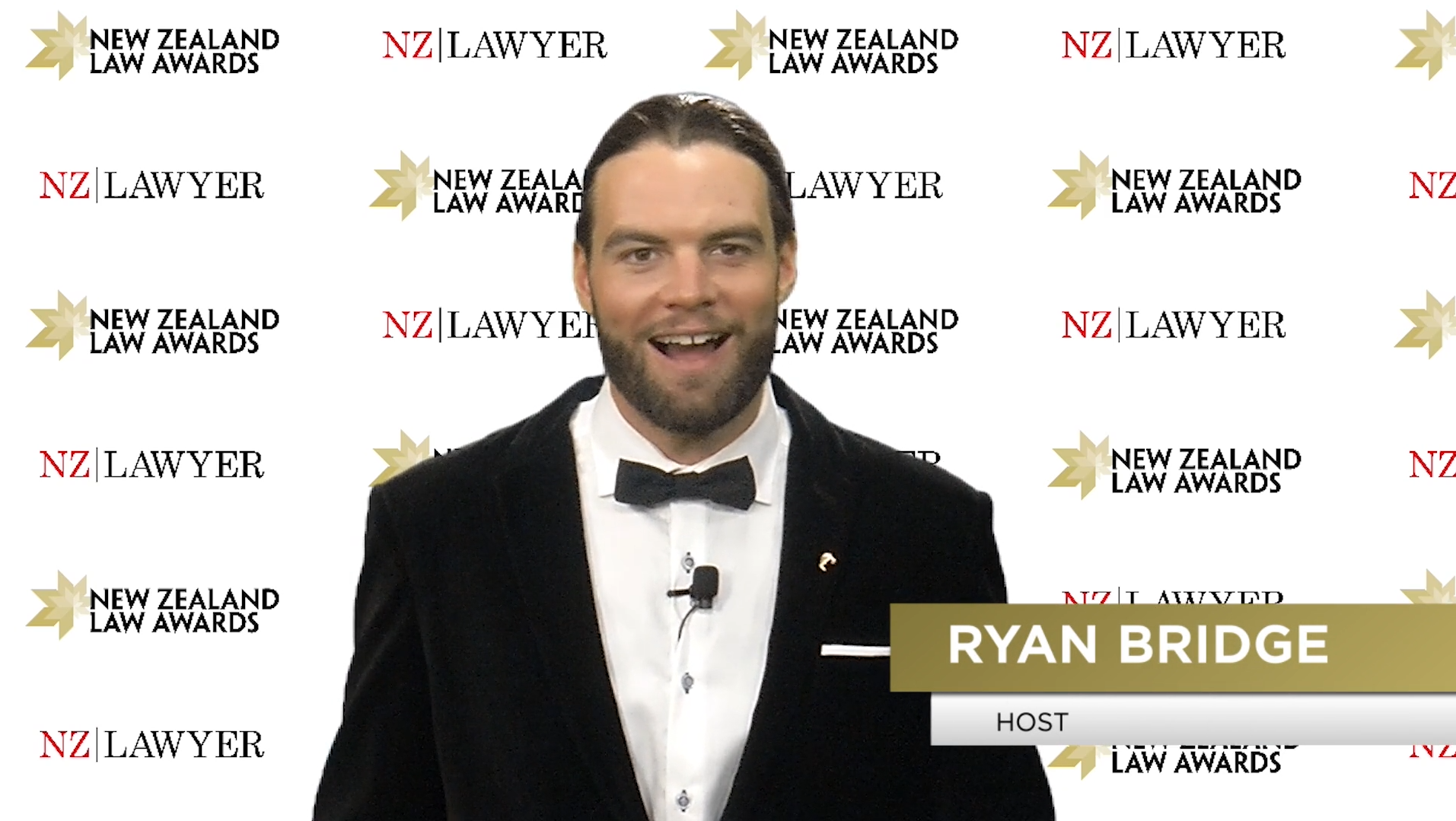Meet your host for the virtual NZ Law Awards