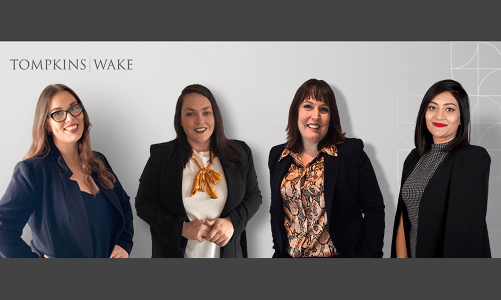 Tompkins Wake welcomes five in Auckland, including new partner