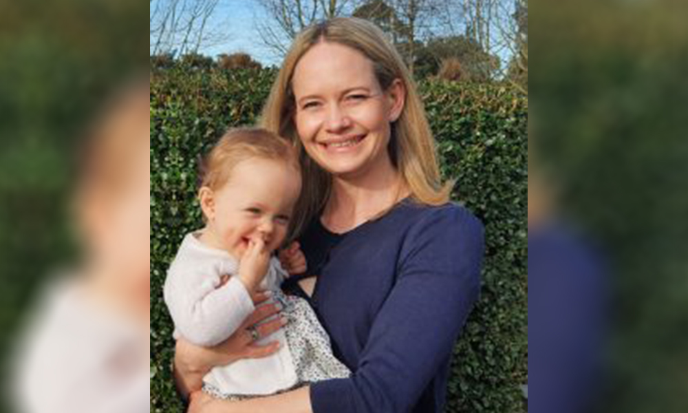 Lane Neave welcomes power mum partner back from parental leave