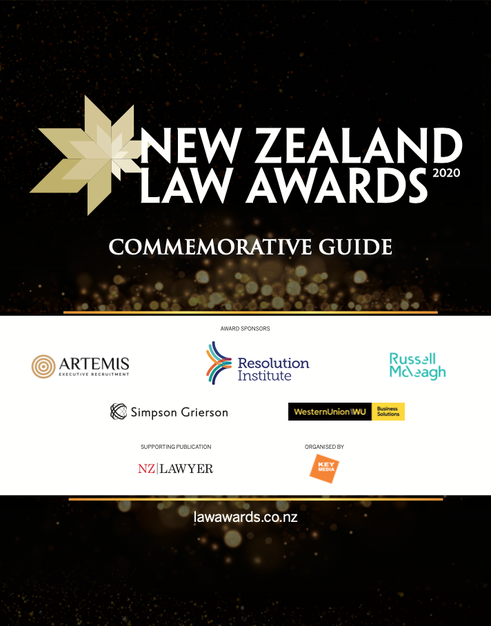 New Zealand Law Awards 2020 Commemorative Guide