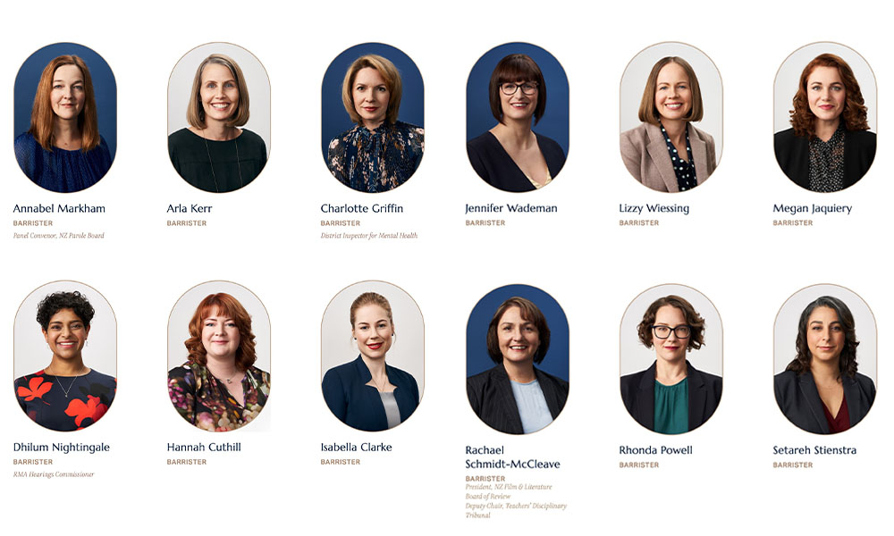 All-female chambers boosts ranks with new barristers
