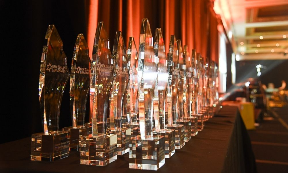 Excellence awardees announced for New Zealand Law Awards 2021