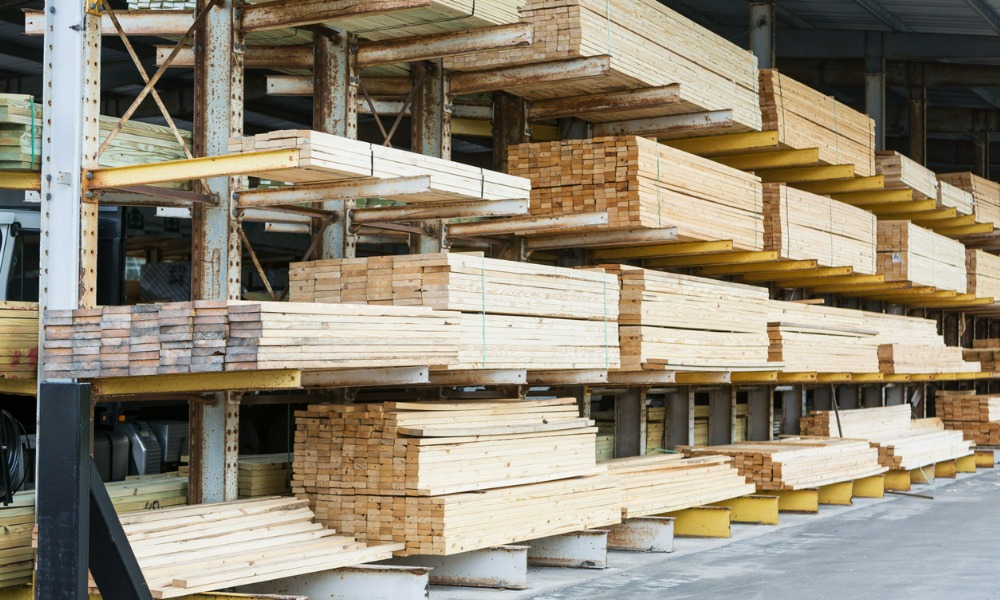 Lumber prices nosedive from record highs