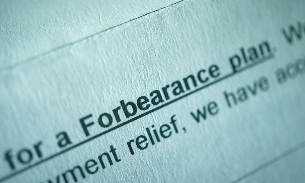 Forbearance numbers continue to fall – MBA