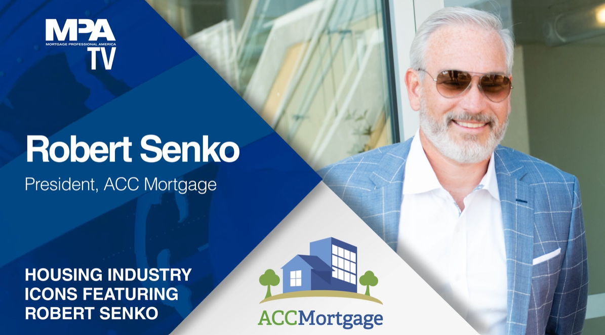 What set mortgage president on the path to success?