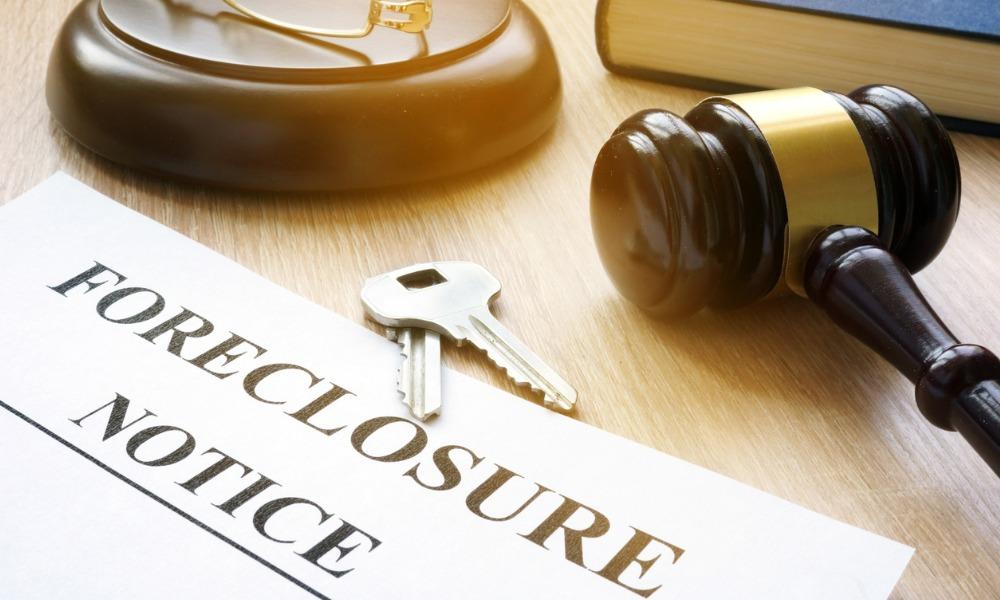 Foreclosure starts fall despite moratorium's end