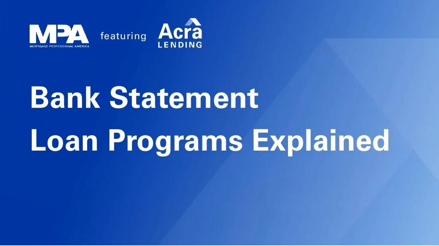 Bank Statement Loan Programs Explained