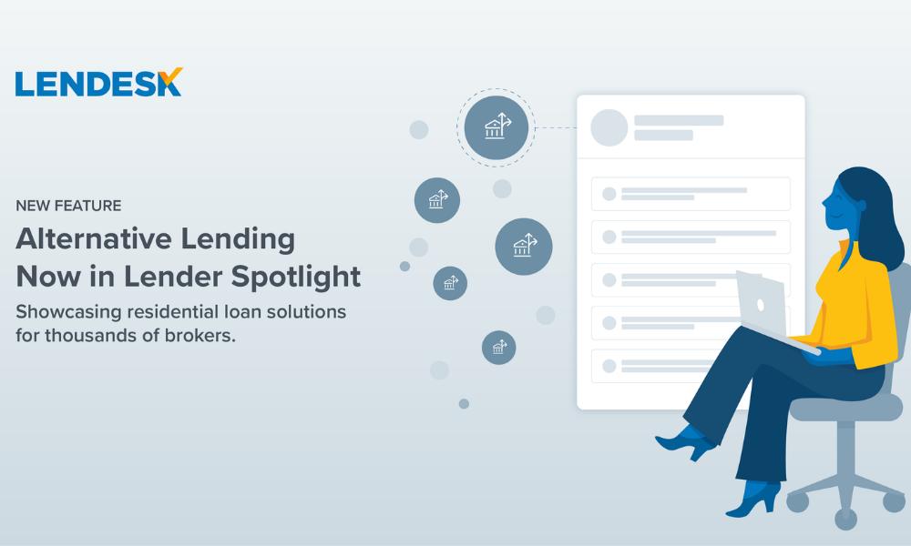 Lender Spotlight launches alternative lending section