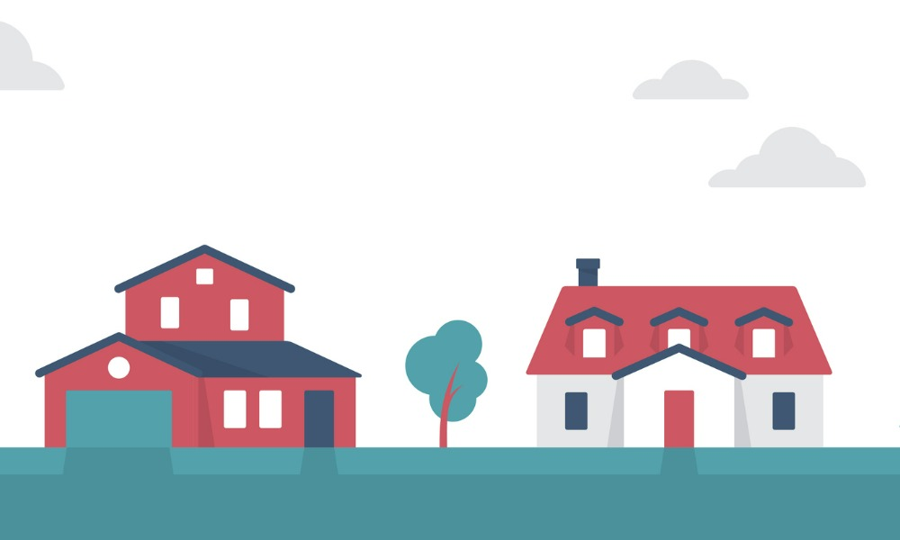 How many Canadians currently own at least two homes?