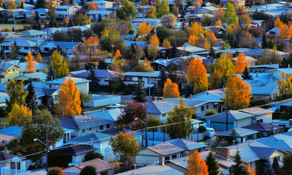 Which areas are driving Canada's home sales?
