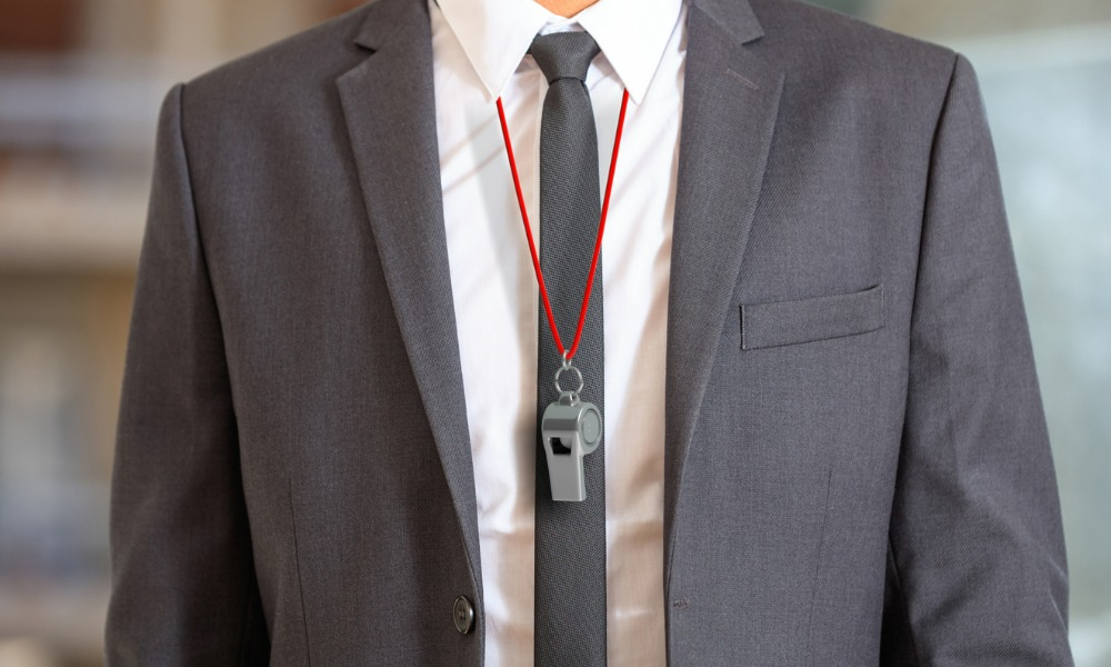 Forum exec accused of ignoring fraud whistleblower