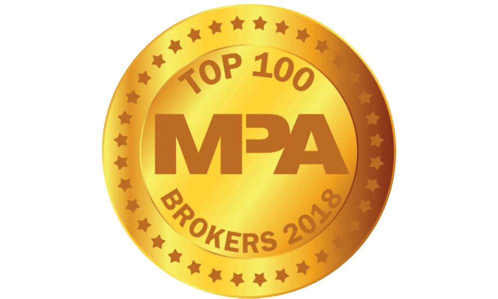 Top 100 Brokers 2018